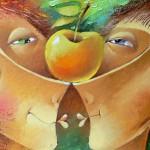 яблоко нашей любви